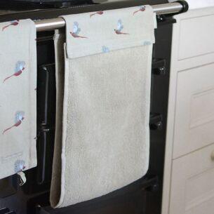 Pheasant Roller Hand Towel