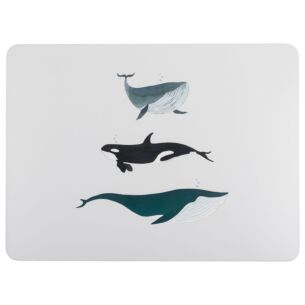 Whales Set of Four Placemats