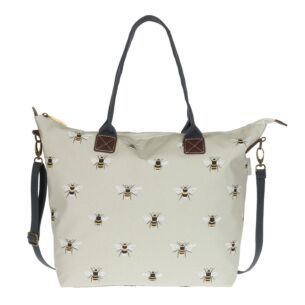 Bees Oilcloth Oundle Bag