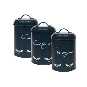 Sophie Allport Bees Set Of 3 Storage Tins