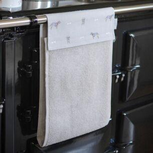 Terrier Roller Hand Towel