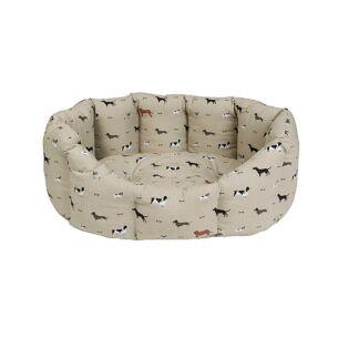 Sophie Allport Woof Cosy Dog Bed - Medium