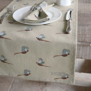 Pheasant Table Runner