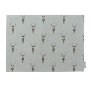 Highland Stag Fabric Placemat