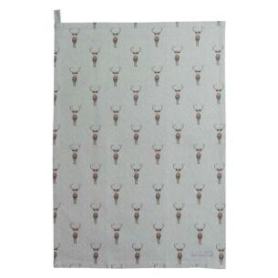 Highland Stag Tea Towel