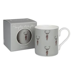 Highland Stag Coloured Boxed Mug