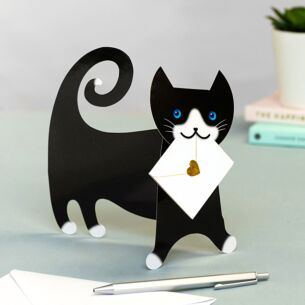 Tommo Cat 3D Greeting Card