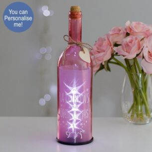 Life is all Rainbows and Unicorns Light Up LED Bottle