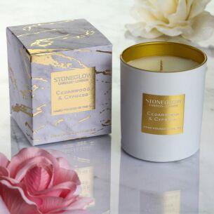 Luna Cedarwood & Cypress Candle