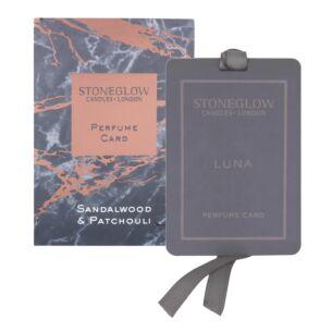 Luna Sandalwood & Patchouli Perfume Card