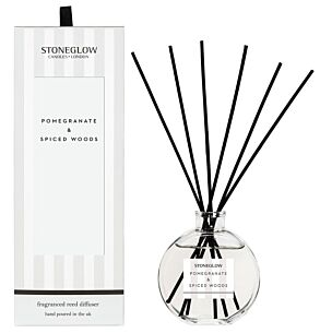 Modern Classics – Pomegranate & Spiced Woods Reed Diffuser