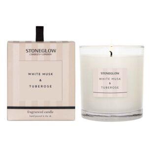 Modern Classics –White Musk & Tuberose Candle