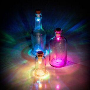 SuckUK Rechargeable Multicolour Bottle Light