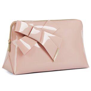 NICCO Pink Knot Bow Washbag