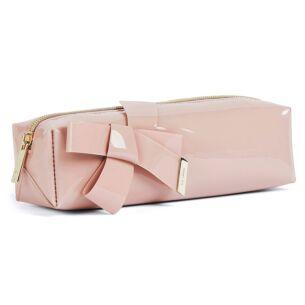 NIKARA Pink Knot Bow Brush Case/Pencil Case