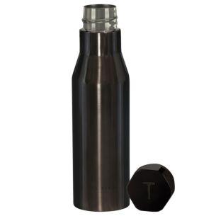 BOTMAN Shiny Black Water Bottle
