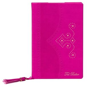 Citrus Bloom Purple Brogue Notebook