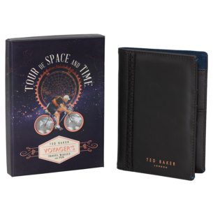 Space & Time Travel Wallet with Pen