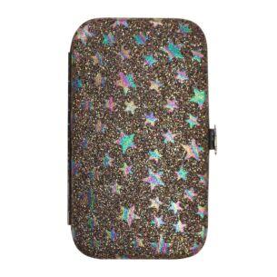 Rainbow Glitter Stars Manicure Set