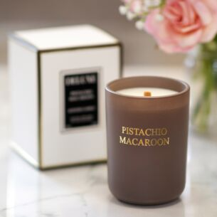 Deluxe Pistachio Macaroon Fragranced Jar Candle