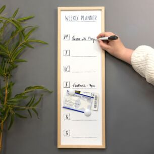 Weekly Planner Large White Board