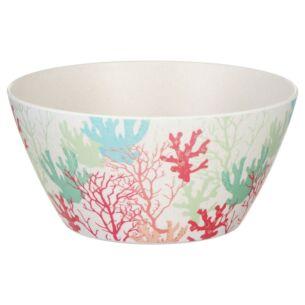 Bamboo Fibre Coral Bowl