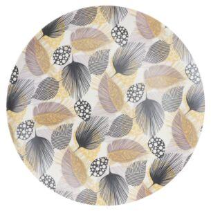Bamboo Fibre Leaf 10 Inch Plate