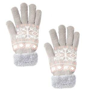 Temptation Grey Gloves