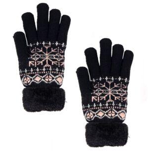 Temptation Black Gloves