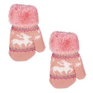 Temptation Pink Children's Mittens
