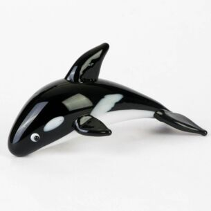 Glass Killer Whale