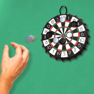 Bottle Cap Dart Board