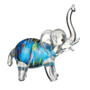 Glass Striped Elephant