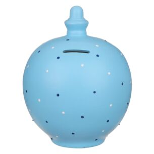Blue Spots Money Pot