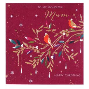 Wonderful Mum Christmas Card