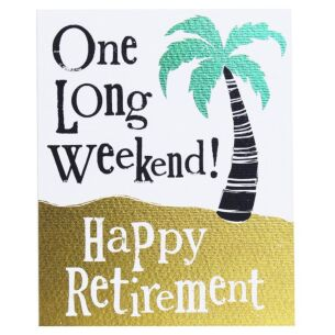 'Happy Retirement' Card