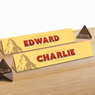 Personalised Toblerone 360g Bar – Milk Chocolate