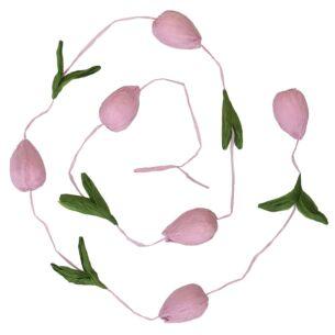 Blush Pink Paper Tulip Garland