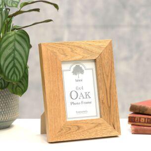 Chunky Oak Frame 6 x 4
