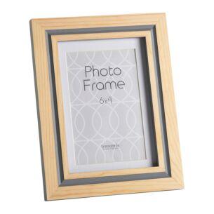 Halmstad Dove Grey 6x4 Photo Frame