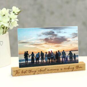 Photo Holder Block 'Memories'