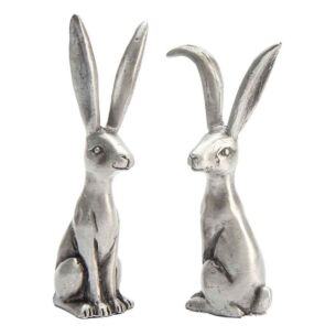 Assorted Hare Pewter Ring Holder