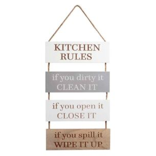 Transomnia 'Kitchen Rules' Sign