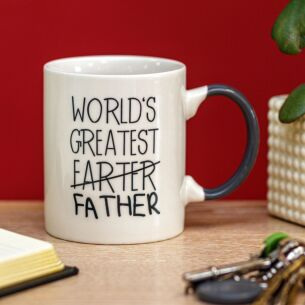 'World's Greatest (Farter) Father' Mug