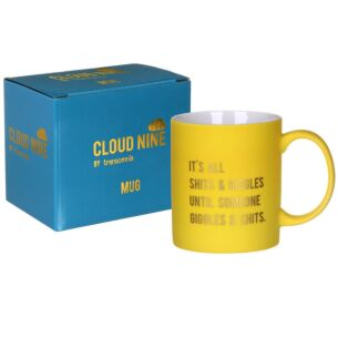 Cloud Nine 'Sh*ts & Giggles' Boxed Mug