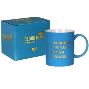 Cloud Nine '7 Billion People' Boxed Mug