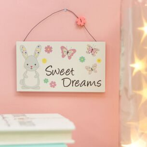 Rosie Rabbit 'Sweet Dreams' Sign