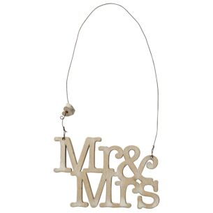 Transomnia 'Mr & Mrs' Small Sign