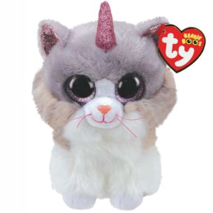 Asher Horned Cat Beanie Boo