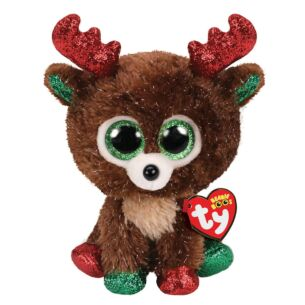 "Fudge – 6"" Christmas Beanie Boo"